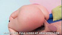 Asa Akira's Anal Workout