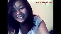 Cute Asian Teen Dildos and Strips in Dormroom 2