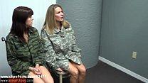 Slutty Soldiers - Sadie Holmes Allura Skye & Le...