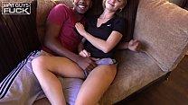 18 YO BBC Teen FUCKS tiny white girl college girl. Thumbnail