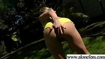 Cute Amateur Teen Girl Masturbating clip-31