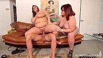2 Big Tit BBW MILFS Take on Hubby Stud Cock