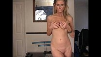 Sexy MILF undressing
