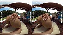 DDFNetwork VR - Poolside VR Striptease with Alice thumb
