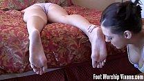 Lesbian Girl Girl Foot Worship