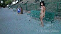 Nude in San Francisco: Iris naked in public Thumbnail