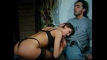 Italian vintage porn: anal sex in black stockings thumb