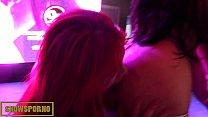 bigbutt latin funny porno show with hot redhead