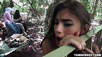 camp jungle in threesome Amazing