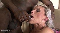 Teasing tight pussy interracial rough black ana... Thumbnail