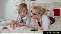 Amateur Lez Teen Girls (Haley Reed & Bailey Bro...