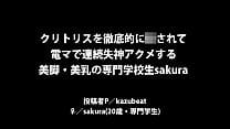 A Japanese amateur idol sakura POV SEX