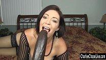 Horny Big Tit MILF Charlee Chase Stuffs Pussy W...