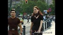Nadine auf der Straße aufgegabelt