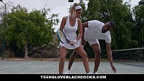 TeensLoveBlackCocks - Busty August Ames Stretch...