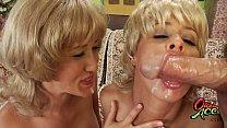 Not The Bradys XXX Milfs Alana Evans & Payton Leigh Swap Turns On Old Guys Cock Thumbnail