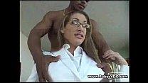 Alexa Rae happy with black cock