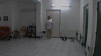 Lapdance show by chubby czech MILF