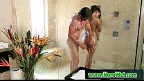 Busty japanesse gives sex massage 10