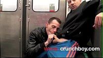 EXHIB XXL SUCK in the Metro SUBWAY in PARIS Thumbnail