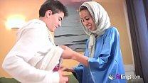 video bokep We Surprise Jordi By Gettin Him His First Arab Girl Skinny Teen Hijab