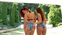 Anita Bellini and Dominica Phoenix in creampie ...