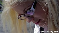 Cumshot tube8 on glasses youporn makes xvideos nerdy gal Sweet Cat teen porn