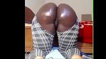 Big black fat booty on cam - 660cams.com