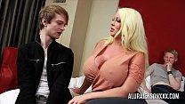 Cuckold threesome with big tit pornstar Alura J... Thumbnail