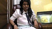 Randi Virgin School girl Lily talking in Hindi about wanting to fuck Thumbnail