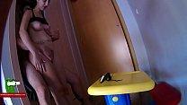 Hot session inside the wardrobe ADR093