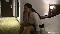 Carissa gets Banged  Lesbian HD Porn Video