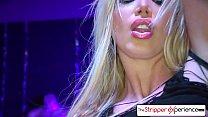 The Stripper Experience - Jessica Jaymes & Nikki Benz fucking a big dick Thumbnail