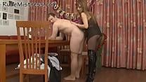 Playful mistress strats nice