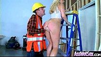 (Ashley Fires) Huge Butt Oiled Girl Enjoy Anal ... Thumbnail