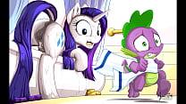 MLP Porn Rarity Pony ( My Little Pony Clop Ponies Hentai Furry Sex Cartoon Compilation ) Thumbnail