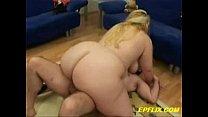 Huge Titted Blonde BBW Gets Lucky - download porn videos