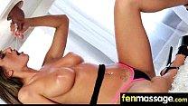 Deepthroat Blowjob From Big Tits Massage Girl 15