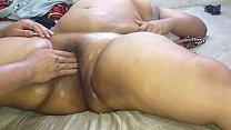 I masturbated my girlfriend, a Mexican chubby w...