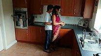 Red saree Bhabhi caught watching porn seduced a... Thumbnail