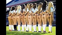 Nude pro football cheerleaders