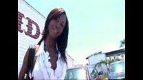 Ebony Babe Hydie Waters Public Fucking in BWC