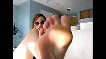 Femdom Goddess Foot Worship JOI