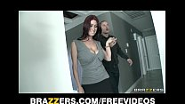 Real estate agent with HUGE natural-tits is fuc...