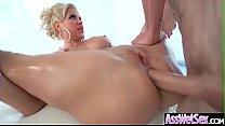 Anal Intercorse With Big Ass Oiled Sluty Girl (...