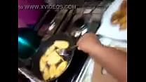 hard cocina la en grabado Casero