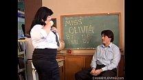 Beautiful big tits asian BBW loves the taste of...