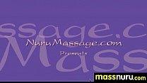Naughty chick gives an amazing Japanese massage 4