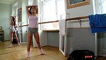 Big titty Ballerina fucked hardcore in Gym