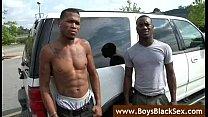 Black Gay Sex Fucking- BlacksOnBoys - video05